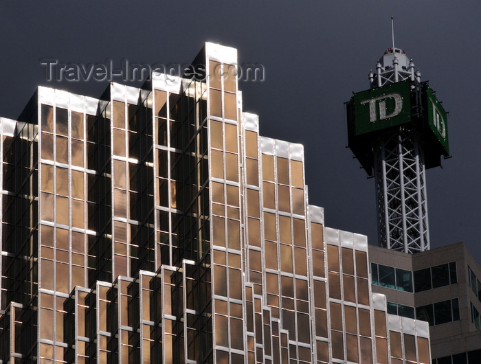 canada746: Toronto, Ontario, Canada: Royal Bank Plaza and the spire of TD Canada Trust Tower - photo by M.Torres - (c) Travel-Images.com - Stock Photography agency - Image Bank