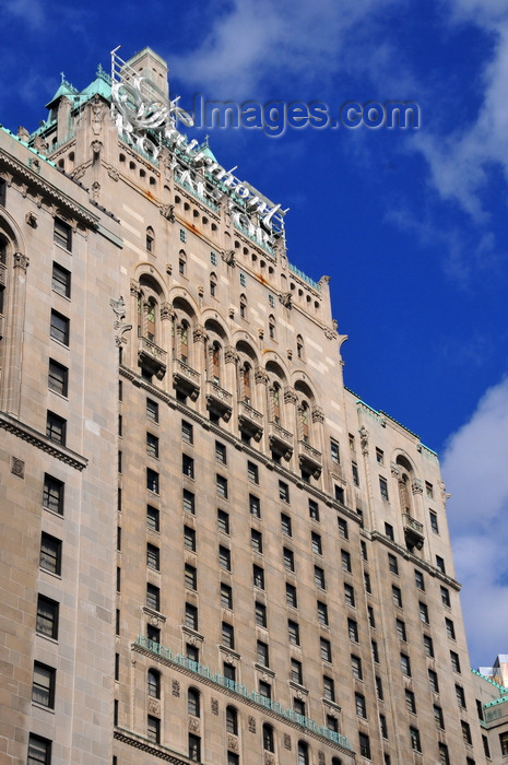 canada748: Toronto, Ontario, Canada: Fairmont Royal York hotel - architects Ross and Macdonald - south façade - photo by M.Torres - (c) Travel-Images.com - Stock Photography agency - Image Bank