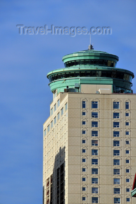 canada764: Winnipeg, Manitoba, Canada: Fort Garry Place III - the 'UFO' is a revolving restaurant - Fort Street - MMP Architects - River Heights-Fort Garry - City Centre - photo by M.Torres - (c) Travel-Images.com - Stock Photography agency - Image Bank