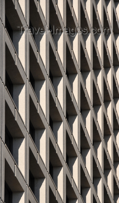 canada789: Winnipeg, Manitoba, Canada: BDC - Carlton at Lakeview Square - pattern of squares on the façade - Carlton Street - photo by M.Torres - (c) Travel-Images.com - Stock Photography agency - Image Bank
