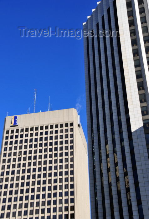 canada804: Winnipeg, Manitoba, Canada: Richardson Building and MTS Place Main - heart of the city at Portage and Main - photo by M.Torres - (c) Travel-Images.com - Stock Photography agency - Image Bank