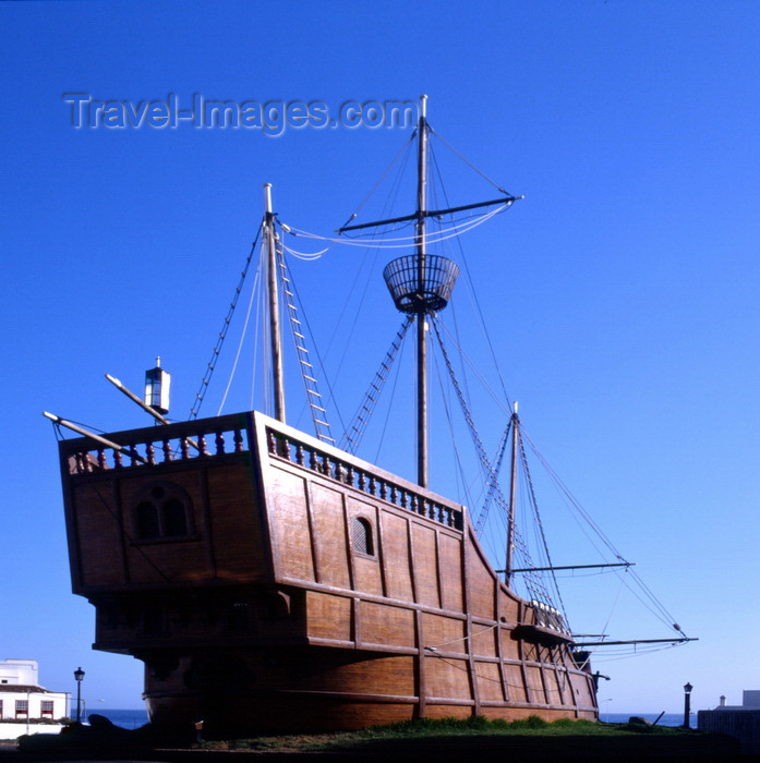 canary77: Santa Cruz de la Palma - La Palma island, Canaries: Columbus Ship Replica - photo by A.Bartel - (c) Travel-Images.com - Stock Photography agency - Image Bank