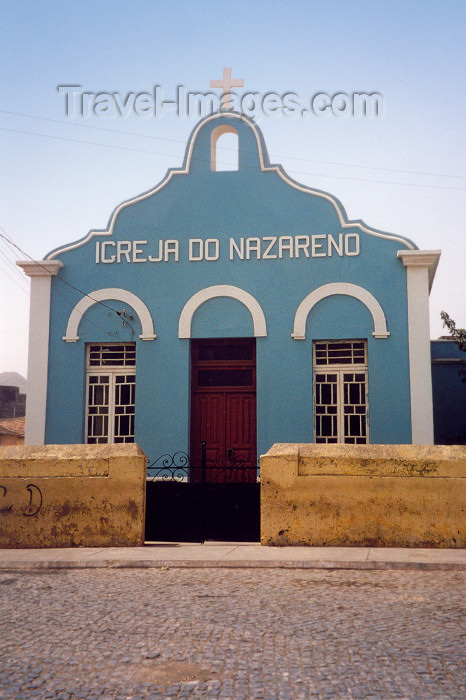 capeverde36: Cabo Verde - Cape Verde - Assomada (concelho de Santa Catarina), Santiago island: the Church of the Nazarene - igreja do Nazareno - photo by M.Torres - (c) Travel-Images.com - Stock Photography agency - Image Bank