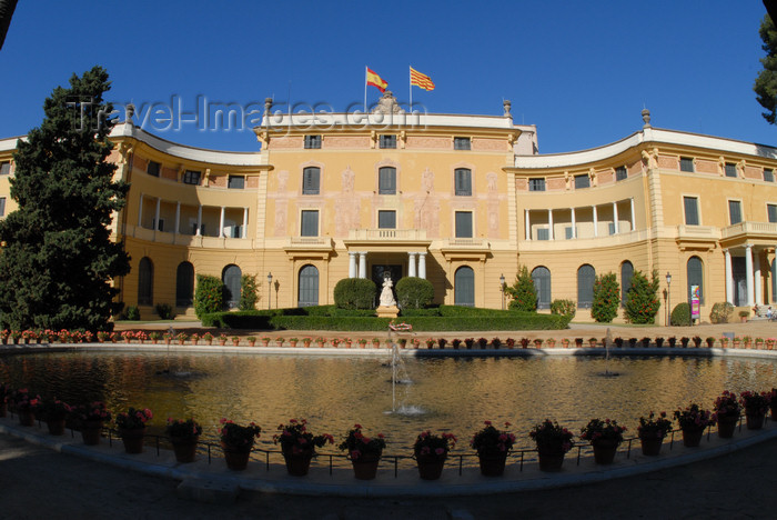 catalon161: Barcelona, Catalonia: Palau Reial de Pedralbes - Pedralbes Royal Palace - photo by T.Marshall - (c) Travel-Images.com - Stock Photography agency - Image Bank