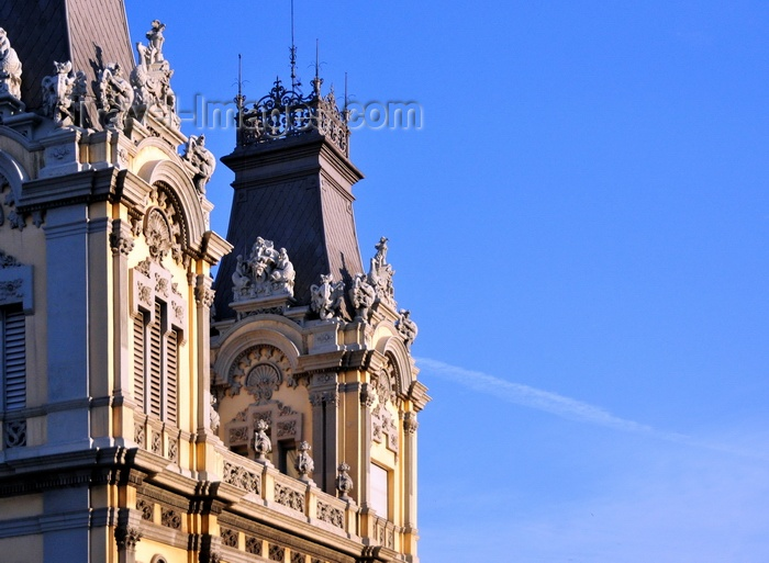catalon252: Barcelona, Catalonia: Port administration building, land side façade - Port Vell - photo by M.Torres - (c) Travel-Images.com - Stock Photography agency - Image Bank