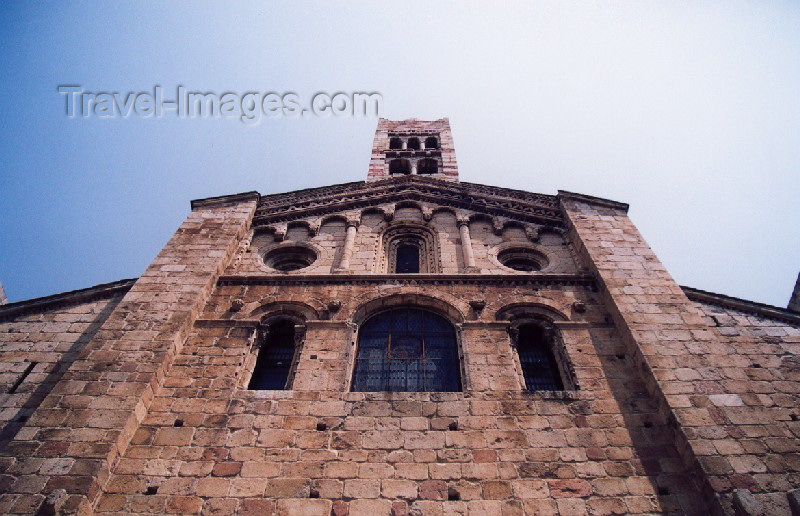 catalon28: Catalonia / Catalunya - La Seu d'Urgell / Seo de Urgel, Alt Urgell Lleida province: the cathedral - photo by Miguel Torres - (c) Travel-Images.com - Stock Photography agency - Image Bank