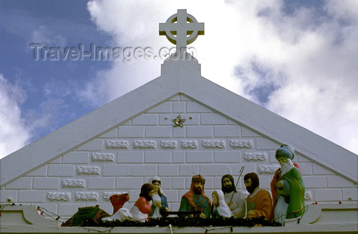 cayman11: Grand Cayman - Grand Cayman - George Town: Christmas crib - presépio - photo by F.Rigaud - (c) Travel-Images.com - Stock Photography agency - Image Bank