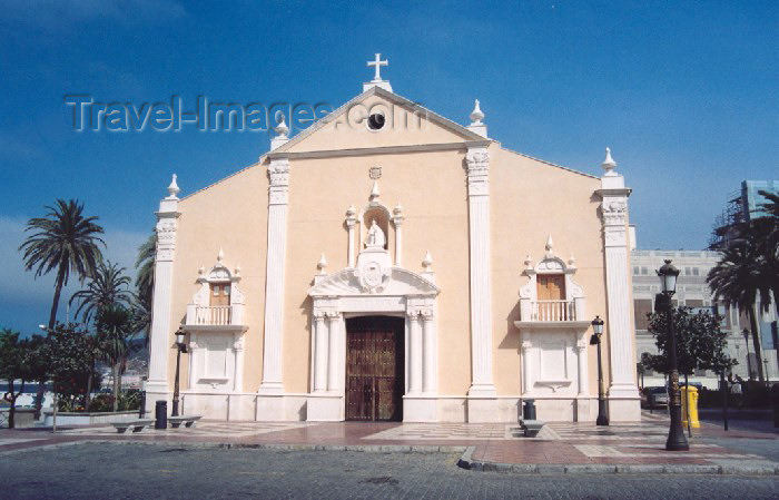 ceuta16: Ceuta: Church of Our Lady of Africa / Igreja de Nossa Senhora de África - edifício Português / Santuario de Ntra. Sra. de África - photo by M.Torres - (c) Travel-Images.com - Stock Photography agency - Image Bank