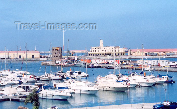 ceuta20: España - Ceuta: the marina / a marina / Puerto deportivo - photo by M.Torres - (c) Travel-Images.com - Stock Photography agency - Image Bank
