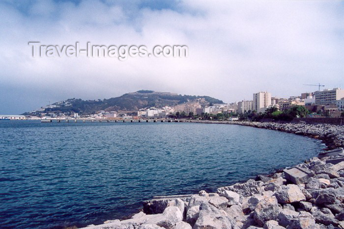 ceuta22: Ceuta, North Africa: Compañia del Mar av. and Mount Hacho - bay / Avenida Compañia del Mar + monte Hacho - photo by M.Torres - (c) Travel-Images.com - Stock Photography agency - Image Bank