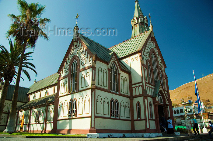 chile109: Chile - Arica: San Marcos Catholic Cathedral - Plaza Colón - Catedral de San Marcos de Arica - photo by D.Smith - (c) Travel-Images.com - Stock Photography agency - Image Bank