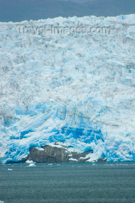 chile121: Chile - Seno Eyre Fjord and Brüggen Glacier, also known as Pío XI Glacier - Southern Patagonian Ice Field - photo by D.Smith - (c) Travel-Images.com - Stock Photography agency - Image Bank