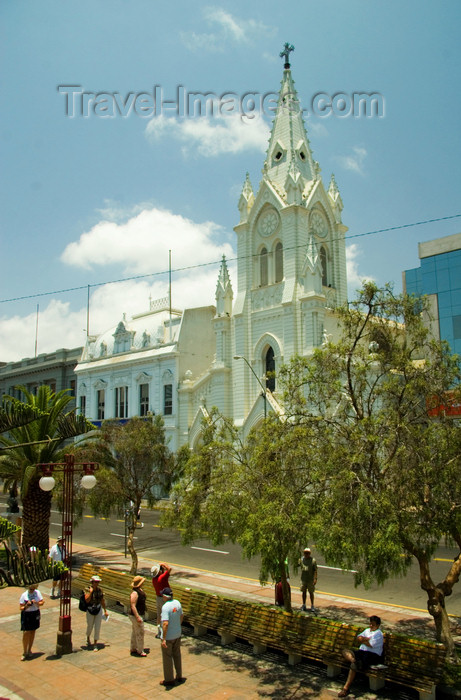 chile125: Antofagasta, Chile: San José cathedral - Plaza Colón - | Parroquia San José, Catedral de Antofagasta - Plaza Colón - photo by D.Smith - (c) Travel-Images.com - Stock Photography agency - Image Bank