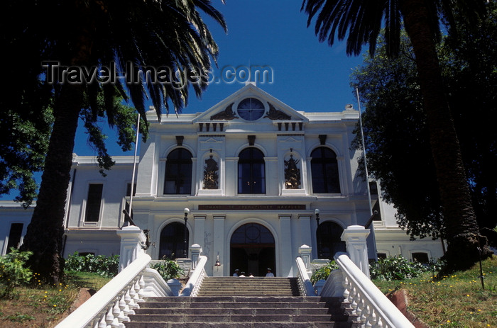 chile174: Valparaíso, Chile: Naval and Maritime Museum on Cerro Artilleria - Historic Quarter of the Seaport City of Valparaíso - UNESCO World Heritage Site- photo by C.Lovell - (c) Travel-Images.com - Stock Photography agency - Image Bank