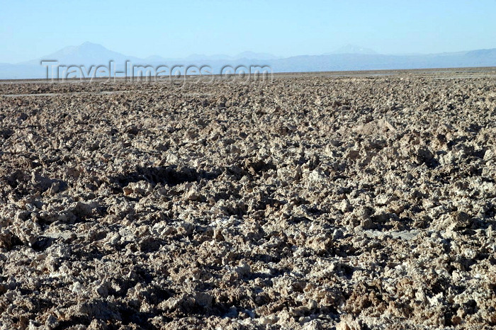 chile70: Chile - Salar de Atacama (Antofagasta region): the largest alkali flat in Chile - salt lake - photo by N.Cabana - (c) Travel-Images.com - Stock Photography agency - Image Bank