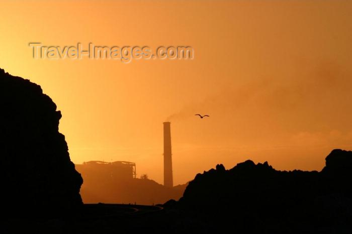 chile84: Chile - Huasco (Atacama region): skyline at sunset - photo by N.Cabana - (c) Travel-Images.com - Stock Photography agency - Image Bank