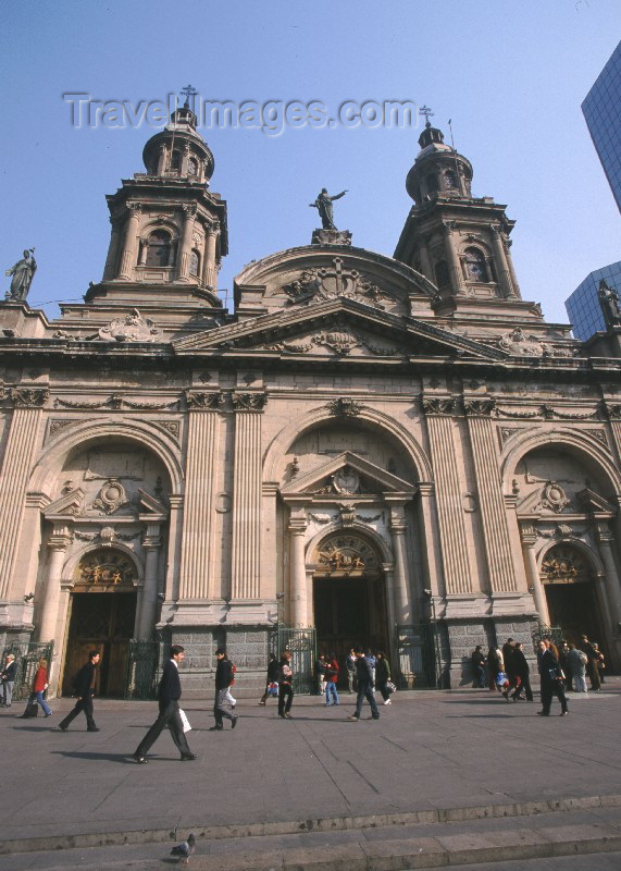 chile9: Chile - Santiago de Chile: Metropolitan Cathedral / Catedral Metropolitana - photo by Rod Eime - (c) Travel-Images.com - Stock Photography agency - Image Bank