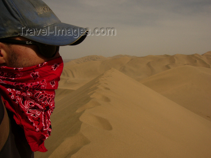 china189: China - Dunhuang - Mingsha Mountain (Jiuquan, Gansu province): sand protection - photo by M.Samper - (c) Travel-Images.com - Stock Photography agency - Image Bank
