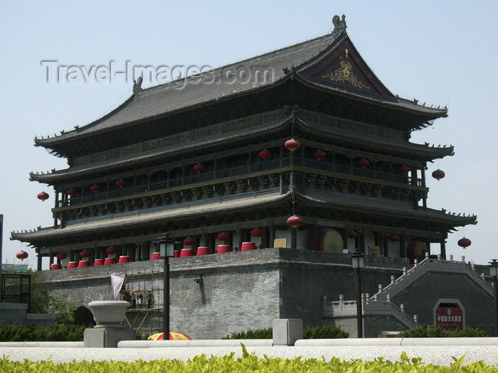china195: China - Xi'an (capital of Shaanxi province): Big Goose Pagoda - photo by M.Samper - (c) Travel-Images.com - Stock Photography agency - Image Bank
