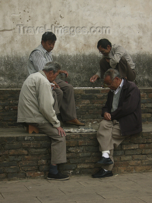 china225: Kunming, Yunnan Province, China: playing draughts - two layers - photo by M.Samper - (c) Travel-Images.com - Stock Photography agency - Image Bank