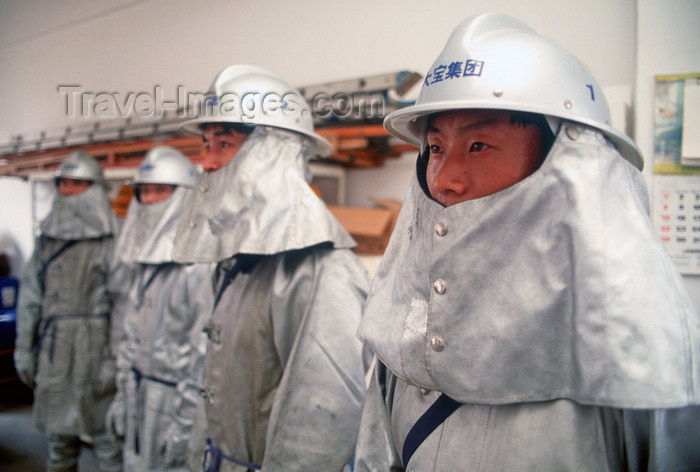 china243: Dongguan, Guangdong province, China: Chinese firemen - in the barracks - photo by B.Henry - (c) Travel-Images.com - Stock Photography agency - Image Bank