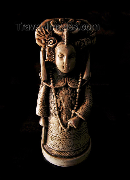china253: China: Chinese chess pieces, the queen - photo by B.Henry - (c) Travel-Images.com - Stock Photography agency - Image Bank