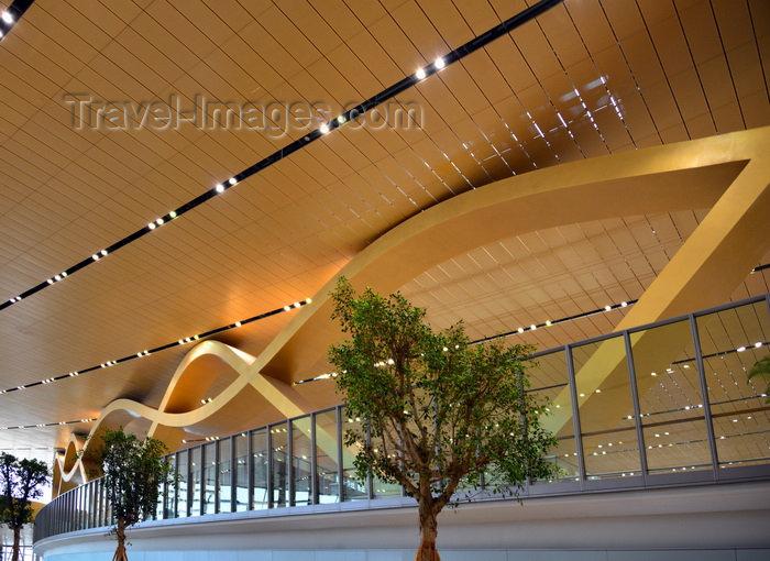 china280: Kunming, Yunnan Province, China: Kunming Changshui International Airport - main terminal, designed by SOM with engineering by Arup - photo by M.Torres - (c) Travel-Images.com - Stock Photography agency - Image Bank