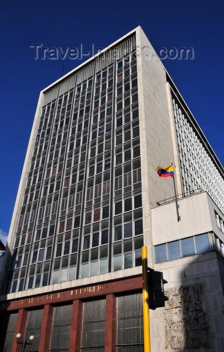 Colombia120 Bogotá Colombia The Building Of Central Bank Banco De La