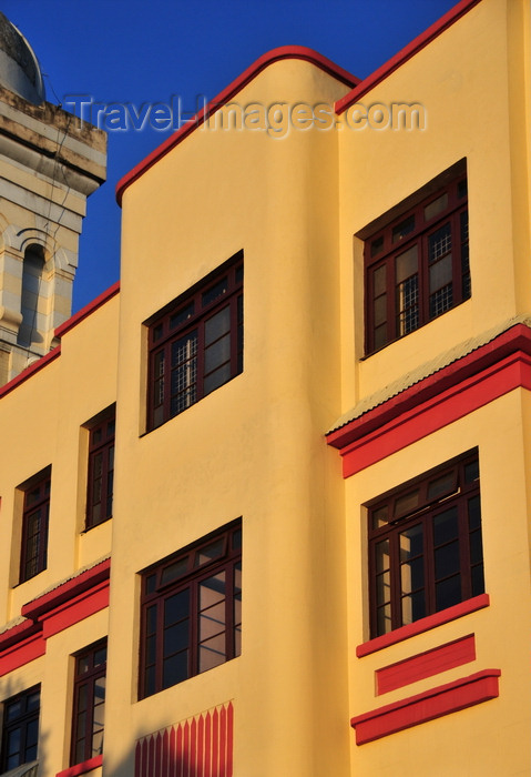 colombia129: Bogotá, Colombia: a bit of Bauhaus architecture on Plaza de las Cruces - Santa Fe - photo by M.Torres - (c) Travel-Images.com - Stock Photography agency - Image Bank
