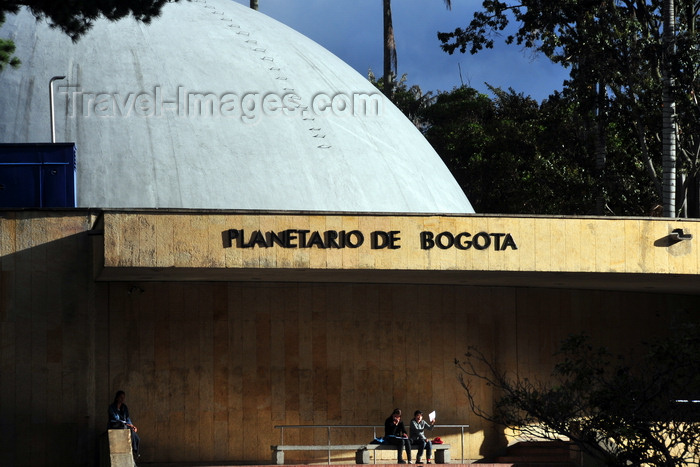 colombia137: Bogotá, Colombia: Planetarium - architecture and engineering design by the firm Pizano, Pradilla, Caro y Restrepo - Planetario de Bogotá - Parque de la Independencia - Centro Internacional de Bogotá - San Diego - Santa Fe - photo by M.Torres - (c) Travel-Images.com - Stock Photography agency - Image Bank