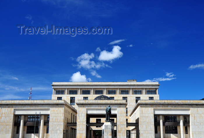 colombia39: Bogotá, Colombia: Plaza de Bolivar - Palace of Justice, home to the Supreme Court - architect Roberto Londoño - Palacio de Justicia - La Candelaria - photo by M.Torres - (c) Travel-Images.com - Stock Photography agency - Image Bank