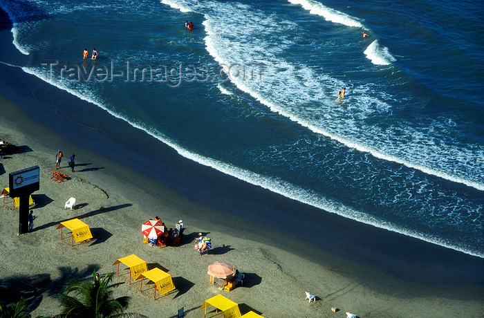 colombia4: Colombia - Cartagena: beach - Caribbean sea - photo by D.Forman - (c) Travel-Images.com - Stock Photography agency - Image Bank