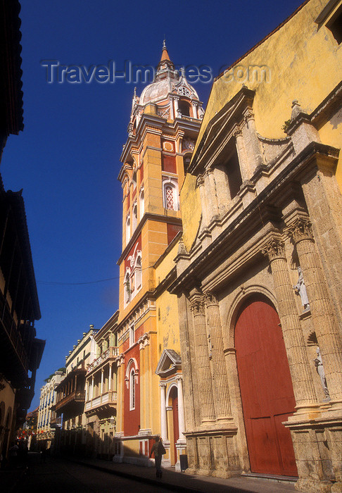 colombia5: Colombia - Cartagena: the Cathedral - photo by D.Forman - (c) Travel-Images.com - Stock Photography agency - Image Bank