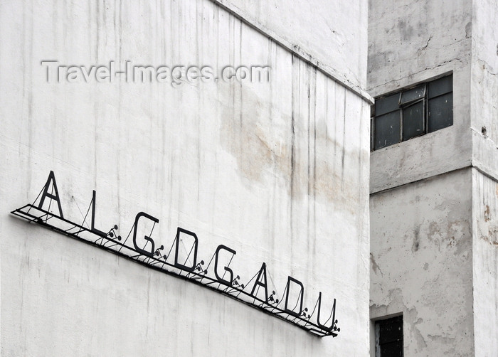 colombia85: Bogotá, Colombia: ALGDGADU Masonic sign on Calle 18 - TTGOTGAOTU - to the Glory of the Great Architect of the Universe - Grand Lodge of Colombia - Gran Logia de Colombia - A La Gloria Del Grande Arquitecto Del Universo - Veracruz - Santa Fe - photo by M.Torres - (c) Travel-Images.com - Stock Photography agency - Image Bank
