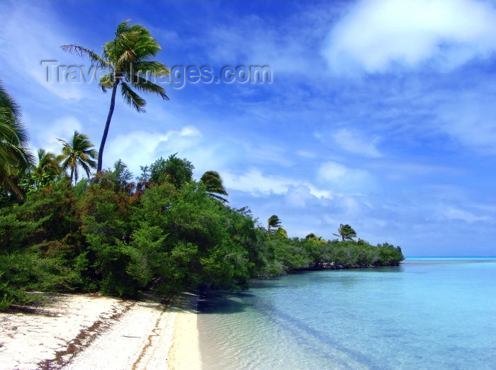 cook47: Cook Islands - Aitutaki island: beach - photo by B.Goode - (c) Travel-Images.com - Stock Photography agency - Image Bank