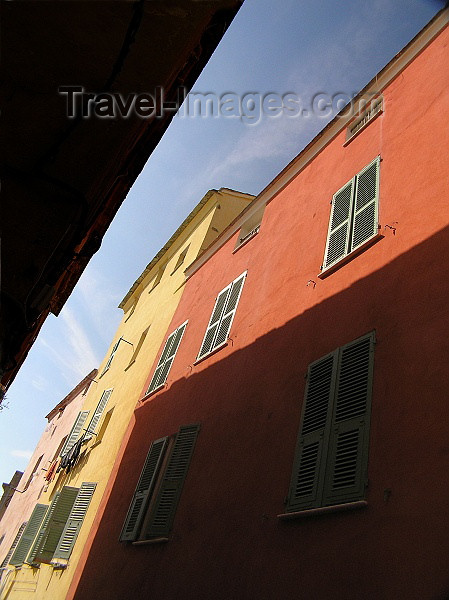 corsica173: Corsica - Bastia: façades - photo by J.Kaman - (c) Travel-Images.com - Stock Photography agency - Image Bank