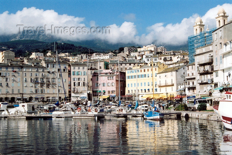 corsica180: Corsica - Bastia: vieux port - photo by M.Torres - (c) Travel-Images.com - Stock Photography agency - Image Bank
