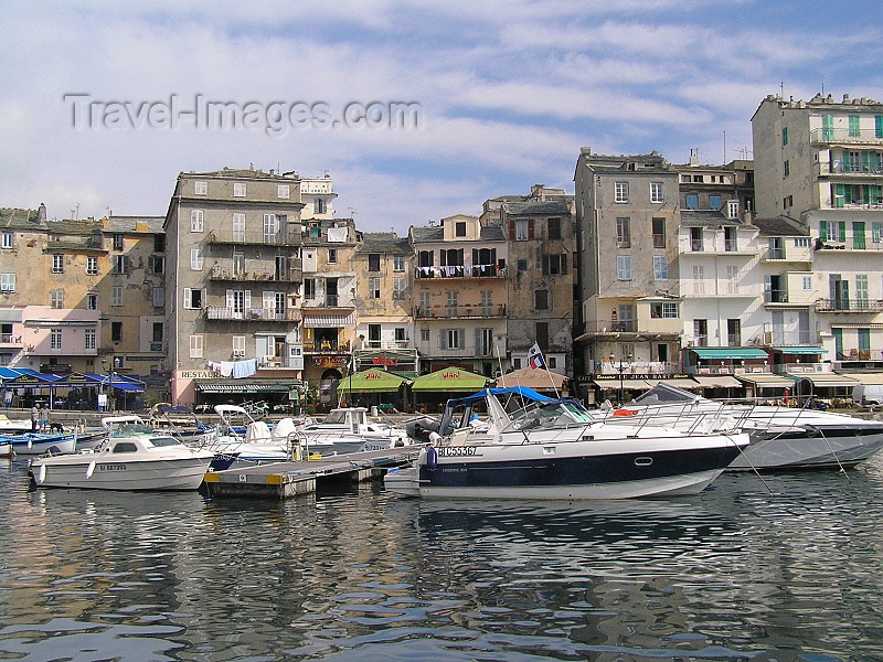 corsica181: Corsica - Bastia: vieux port II - photo by J.Kaman - (c) Travel-Images.com - Stock Photography agency - Image Bank
