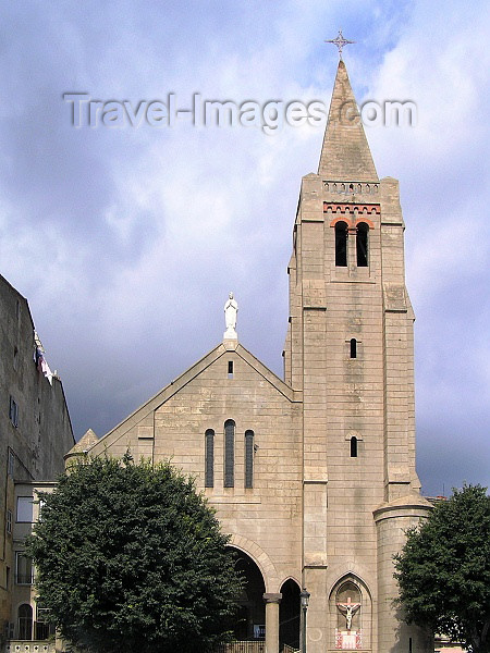 corsica189: Corsica - Bastia: church of Notre Dame de Lourdes - photo by J.Kaman - (c) Travel-Images.com - Stock Photography agency - Image Bank