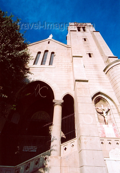 corsica214: Corsica - Bastia: church of Notre Dame de Lourdes - photo by M.Torres - (c) Travel-Images.com - Stock Photography agency - Image Bank