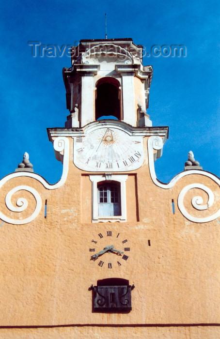 corsica216: Corsica - Bastia: Palais des Gouvérneurs - sundial - architecture - building - photo by M.Torres - (c) Travel-Images.com - Stock Photography agency - Image Bank