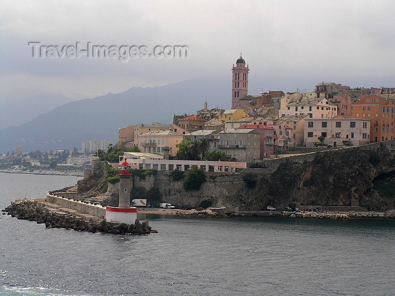corsica8: Corsica / Corse - Bastia / BIA : a Genoese citadel on the Mediterranean - photo by J.Kaman - (c) Travel-Images.com - Stock Photography agency - Image Bank