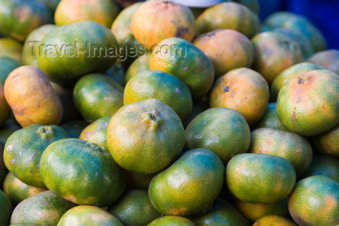 costa-rica26: Costa Rica - Alajuela province: Mandarin Oranges for sale at a roadside market - Citrus reticulata - photo by H.Olarte - (c) Travel-Images.com - Stock Photography agency - Image Bank