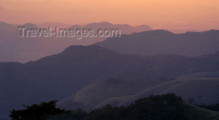 costa-rica66: Monteverde, Puntarenas, Costa Rica: sunset, layered mountains - photo by B.Cain - (c) Travel-Images.com - Stock Photography agency - Image Bank