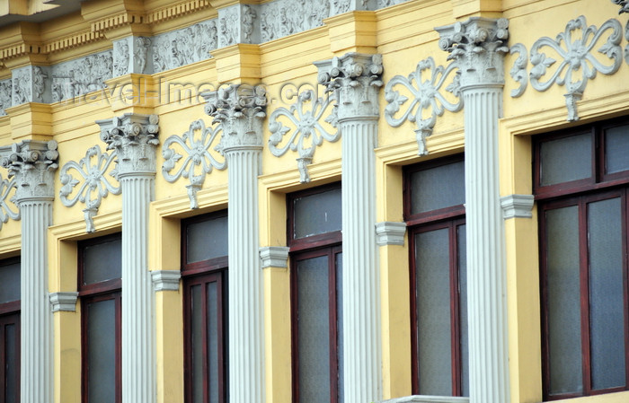 costa-rica9: San José, Costa Rica: Teatro Melico Salazar - architect José Fabio Garnier Ugalde - neo-classical detail - Parque Central - Av 2 Centenario - photo by M.Torres - (c) Travel-Images.com - Stock Photography agency - Image Bank