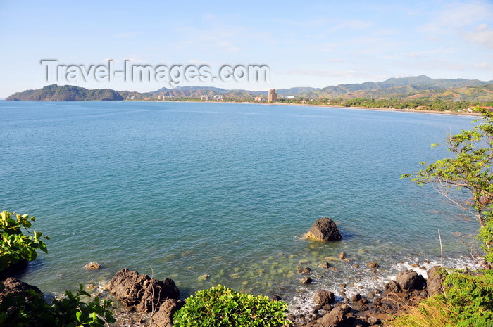 costa-rica93: Jacó, Puntarenas province, Costa Rica: the bay and the beach - photo by M.Torres - (c) Travel-Images.com - Stock Photography agency - Image Bank