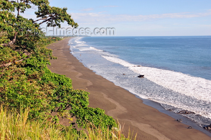 costa-rica95: Playa Hermosa, Puntarenas province, Costa Rica: view over the beach - photo by M.Torres - (c) Travel-Images.com - Stock Photography agency - Image Bank