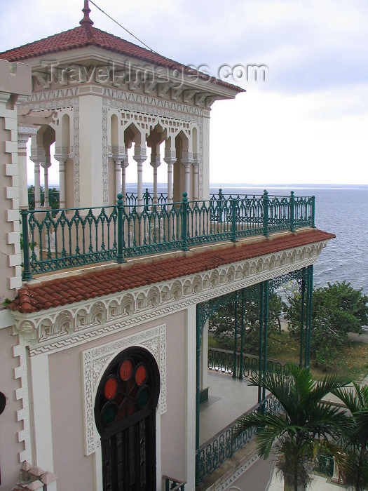 cuba119: Cuba - Cienfuegos: Palacio de Valle - sea view - neo-gothic style - Urban Historic Centre of Cienfuegos - World Heritage site - photo by L.Gewalli - (c) Travel-Images.com - Stock Photography agency - Image Bank
