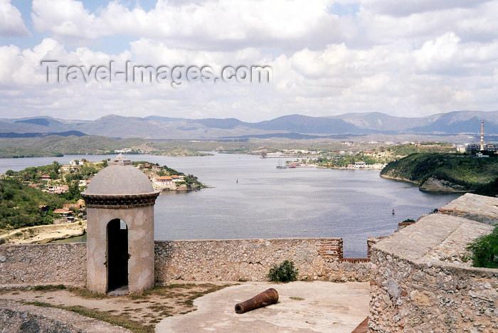 cuba12: Cuba - Santiago de Cuba: the view from fort San Pedro de la Roca - El Morro (photo by M.Torres) - (c) Travel-Images.com - Stock Photography agency - Image Bank
