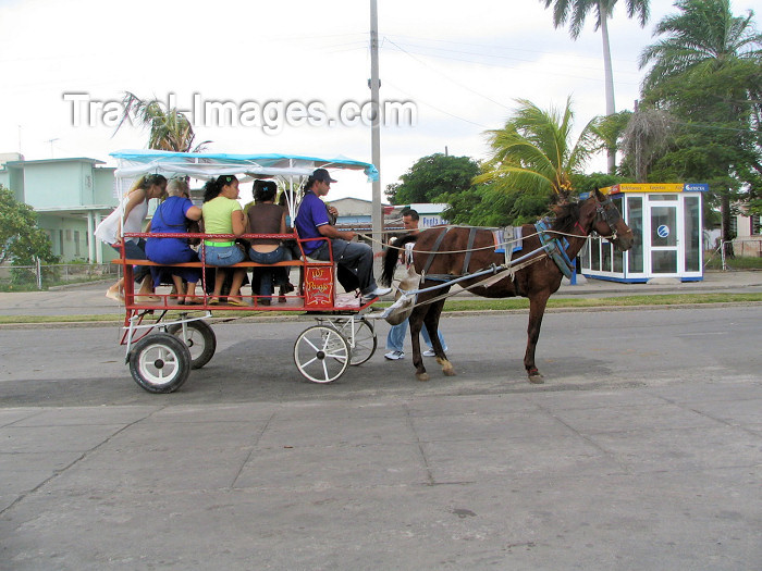 cuba122: Cuba - Cienfuegos: environmentally correct public transportation - photo by L.Gewalli - (c) Travel-Images.com - Stock Photography agency - Image Bank